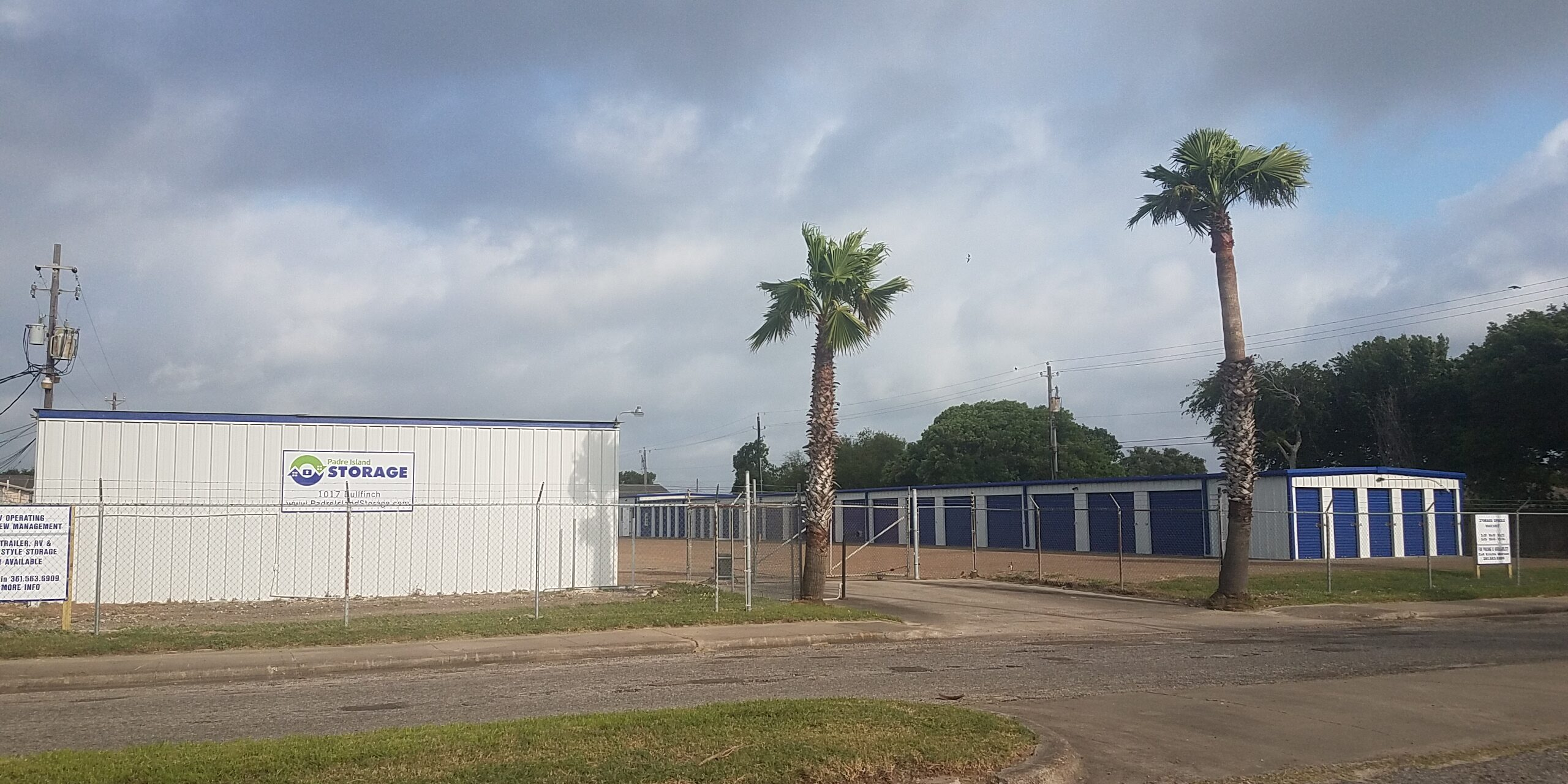 Padre Island Storage Third Location on Bullfinch Street, Corpus Christi